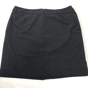 Calvin Klein gray work career wear skirt. 20W